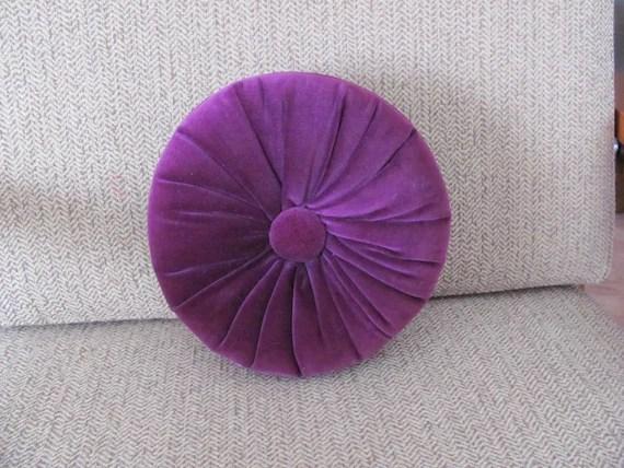 Vintage Purple Velvet Pillow 196039s Velvet Throw Pillow