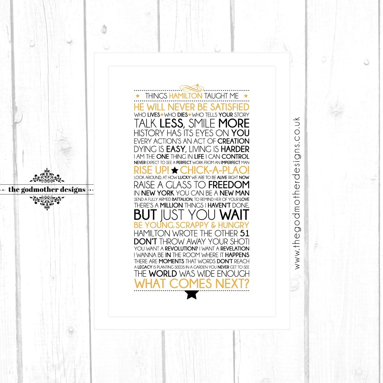 Dear Evan Hansen Quotes Wallpaper Hamilton Broadway Musical Quotes Lyrics Typographic Print