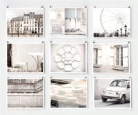 Fine Art Photography Paris Gallery Wall Art Prints White