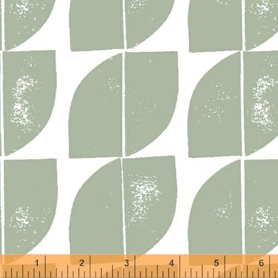 Lotta Jansdotter Fabric - Hemma - Cocca in Celadon