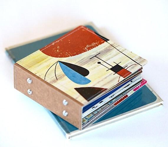 18 Dvd Holder Art Book Cd Wallet Handmade From Upcycled Album
