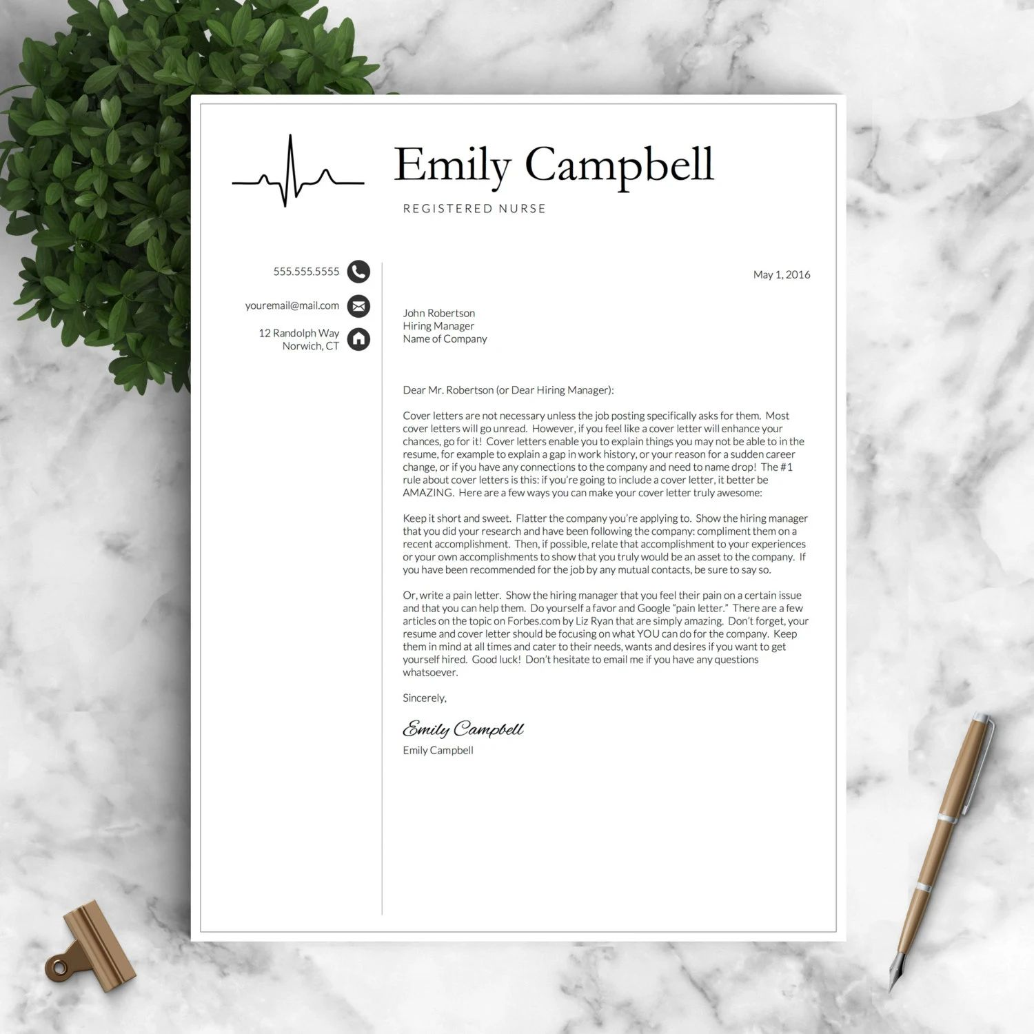 creative cv download