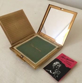 Vintage Compact Mirror - Purse Accessory - Elgin American