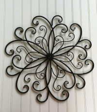 Outdoor metal wall art