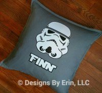 Personalized Stormtrooper Down Pillow