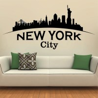 New York City wall decal United states wall decal City