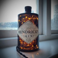 Hendricks Gin Lamp Steampunk Lamp Steampunk Light Bottle Lamp