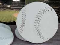 Baseball Drink Coasters Men's Gifts Coasters Lake
