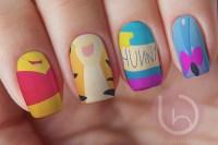 Winnie The Pooh Nail Design Nails Press On Nail Decal Nail