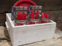 Paper Plate And Utensil Caddy & Paper Plate And Utensil ...