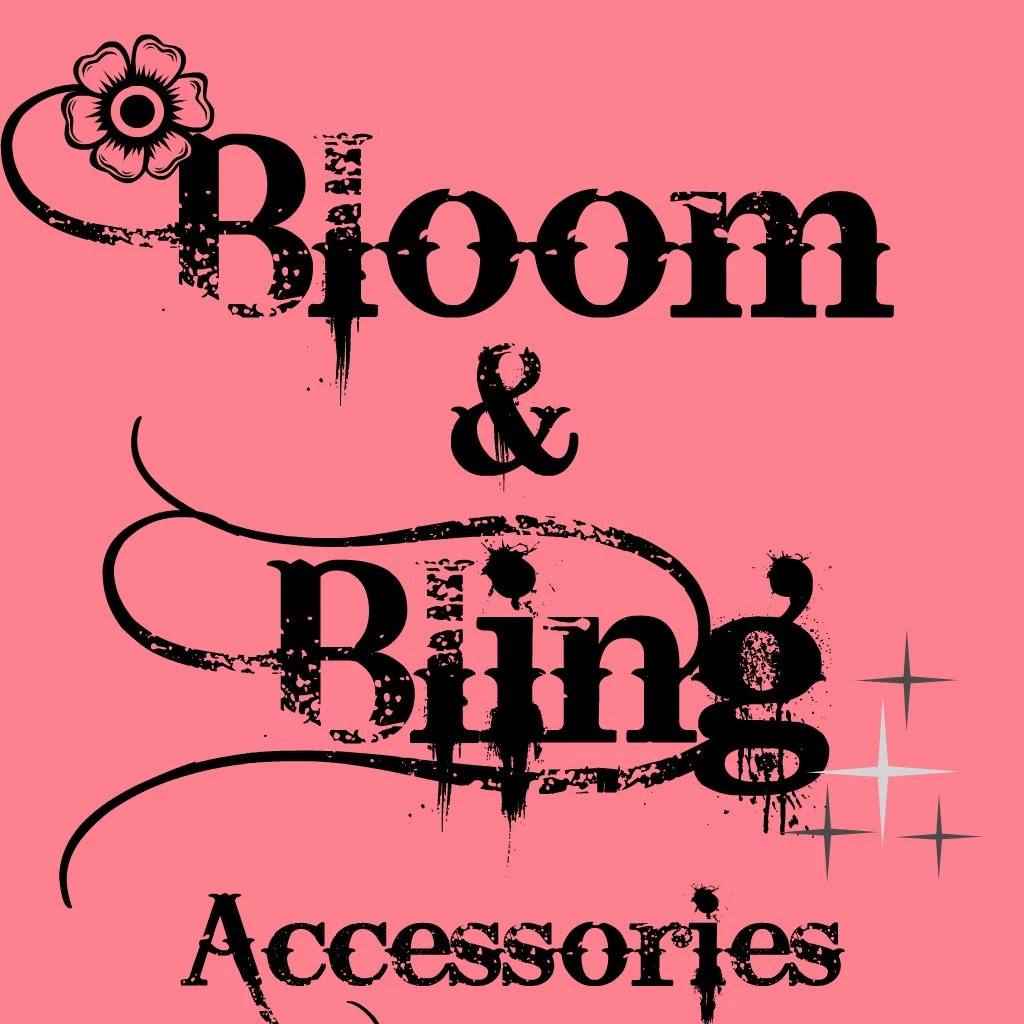 Bloom Accessoires Bloom And Bling Accessories By Bloomandbling On Etsy