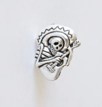 Skull Tie Tack Skeleton Tie Pin Day of the Dead Gifts for Men
