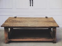 Reclaimed barn door coffee table by DWKFurniture on Etsy