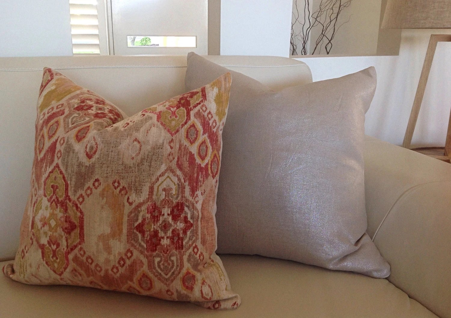 Boho Cushions Australia Earthy Red Natural Metalic Boho Cushions Boho Cushions