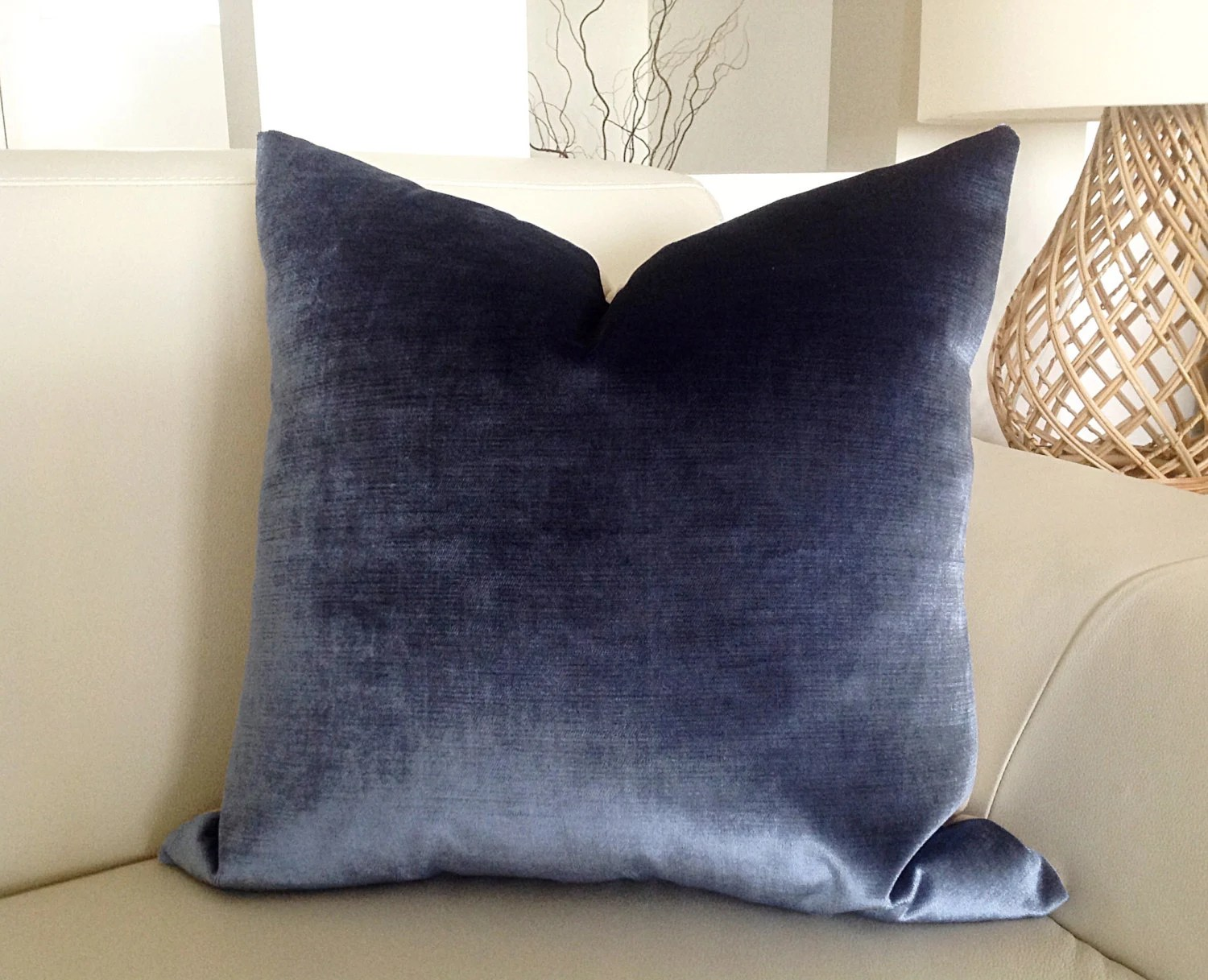 Blue Velvet Cushion Velvet Cushions Navy Velvet Pillows Grey Velvet Cushion