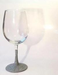 Glitter Dipped Glasses Glitter Wine Glass by ...