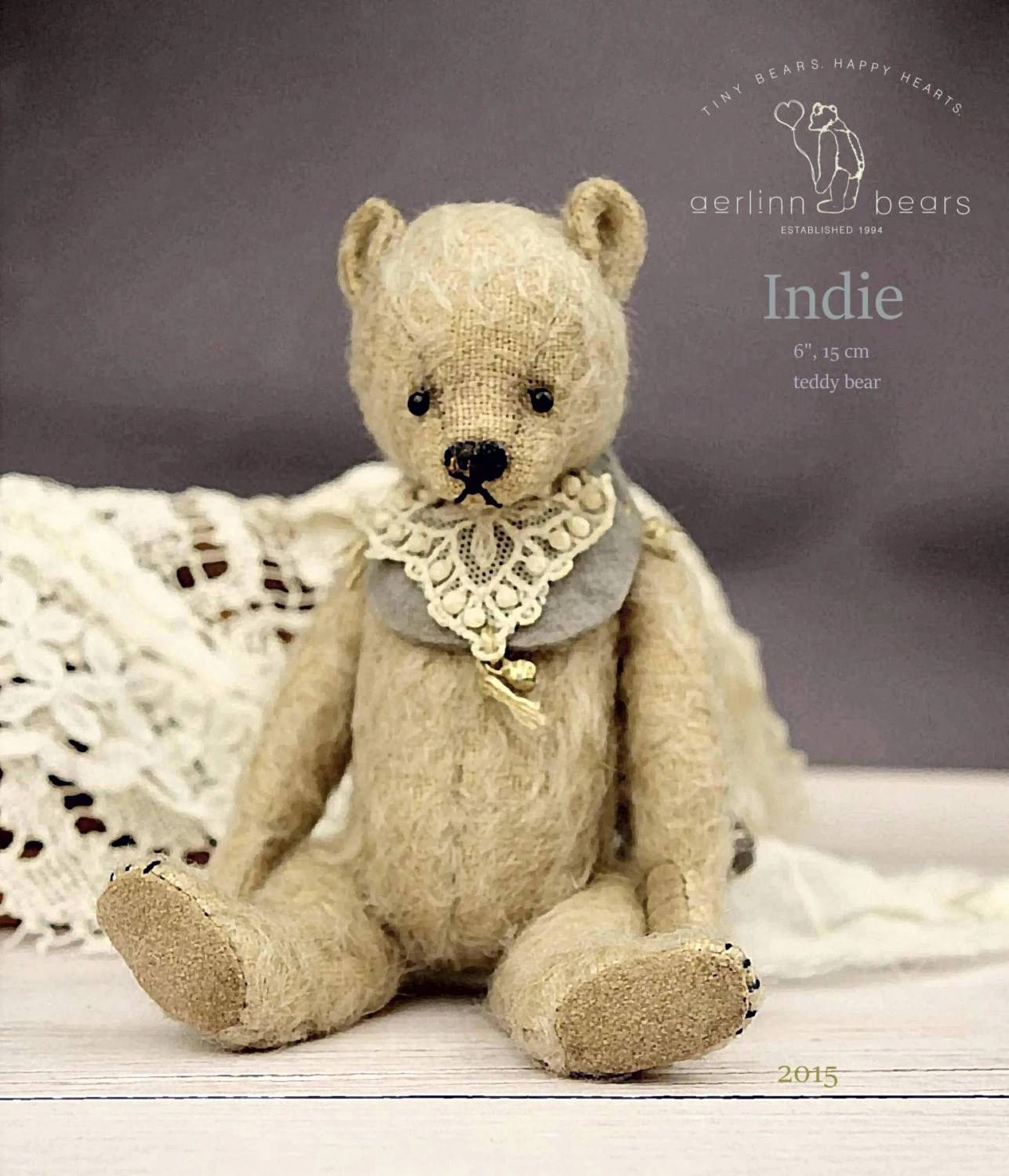 Australian Made Teddy Bears Indie 6 Pdf Artist Teddy Bear Pattern By Aerlinn Bears