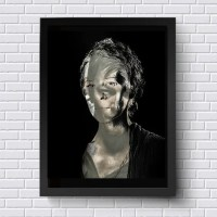 Carol The Walking Dead Wall Art TWD Original Artwork TV