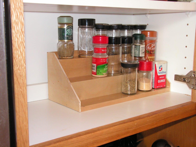 Spice Shelf Organizer 3 Tier