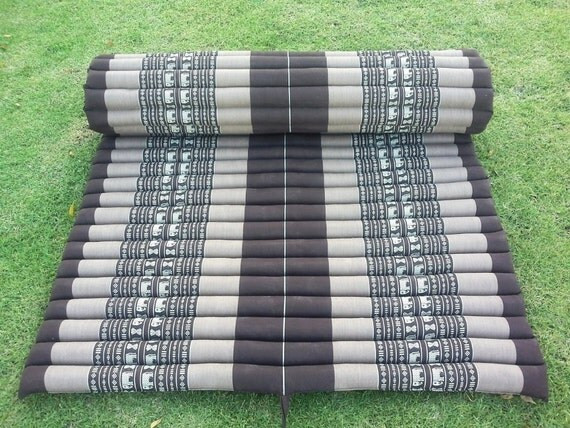 Camping Roll Up Thai Mattress Cushion Yoga Day Bed 79 X 42