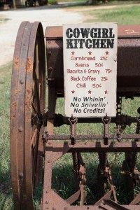 Large Rustic Wood Sign Cowgirl Kitchen...