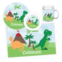Dinosaur Plate, Bowl, Mug or Placemat