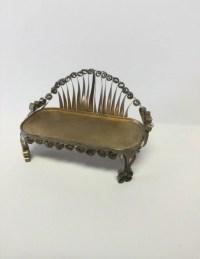 tin can furniture tin can tramp art minature doll furniture