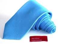Silk Tie 3 inch Tonal Malibu Blue Tie