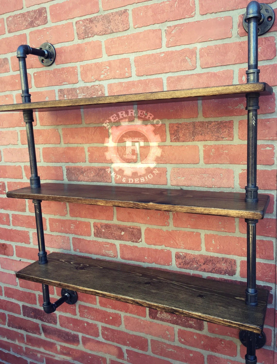Steampunk Wall Shelves Steampunk Shelf Industrial Shelves Wall Shelves Industrial