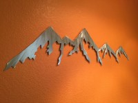 Mountain Metal Wall Art - Bing images