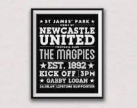 Newcastle united   Etsy UK