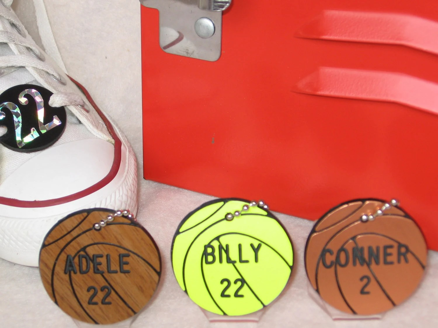 Personalized Basketball Gifts Basketball Bag Tags