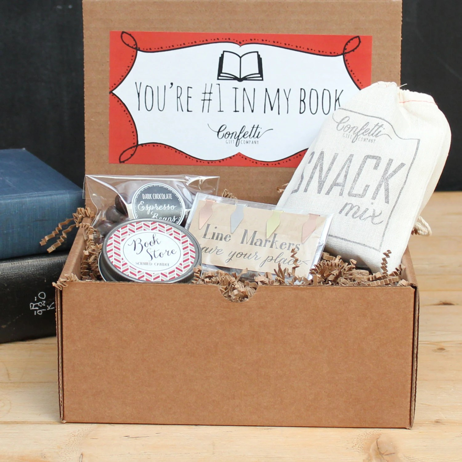 Book Lover Gift Book Lovers Gift Book Lovers Gift Box By