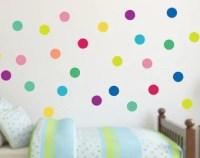 Polka dot wall art | Etsy