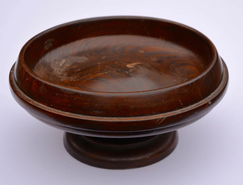 Edwardian Fruit Bowl Vintage Pedestal Fruit Bowl By