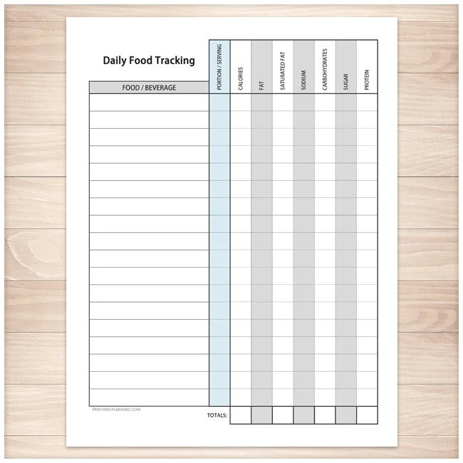 Printable Kettlebell Exercise Log Daily Workout Sheet with - workout sheet
