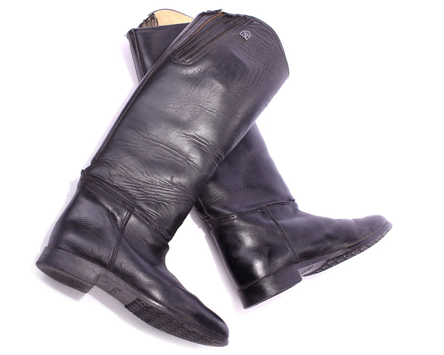 Knee High Leather Boots For Skinny Legs Ville Du Muy