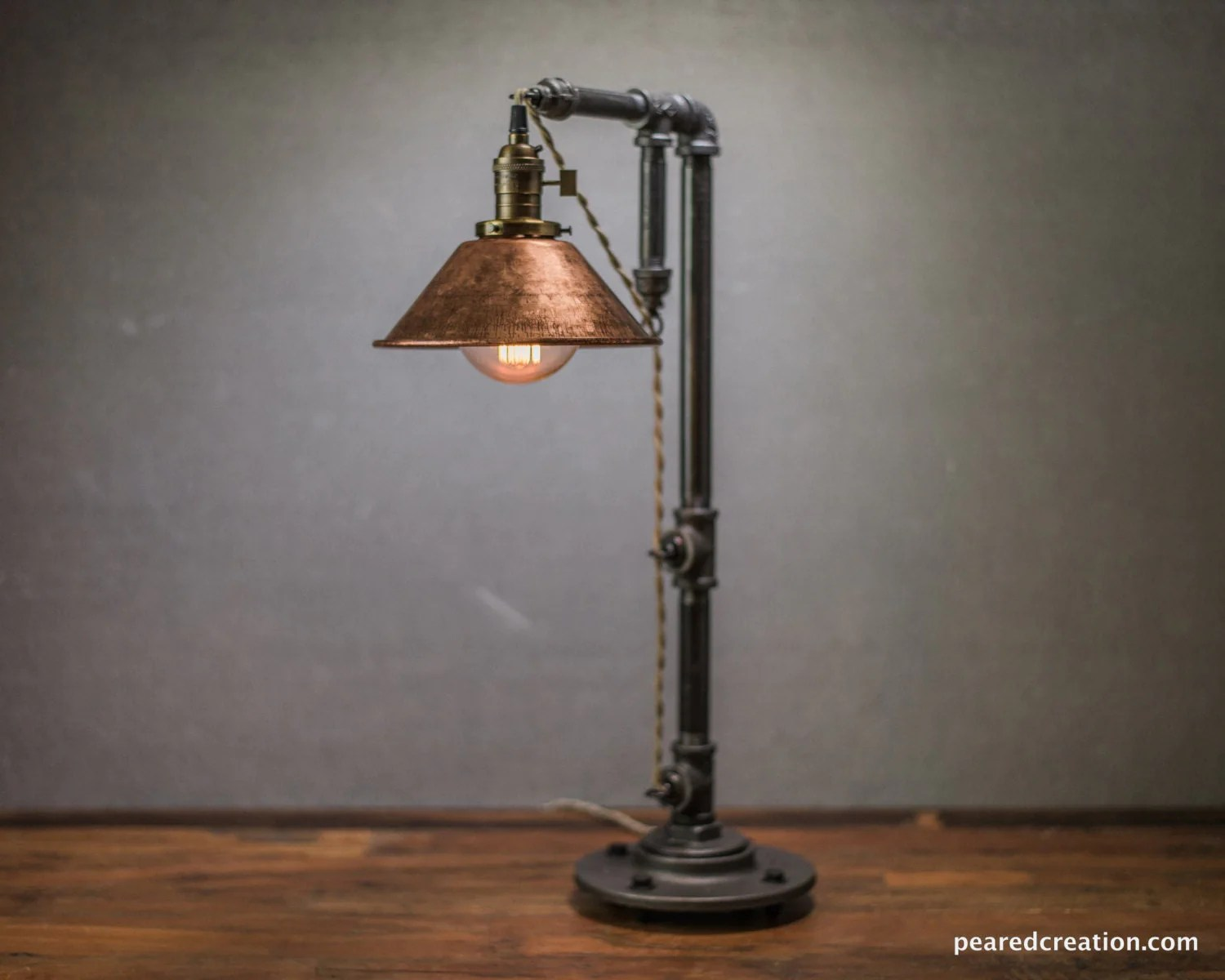 Edison Lampe Industrial Table Lamp Edison Bulb Lamp Table Lamp