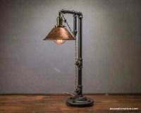 Industrial Table Lamp Edison Bulb Lamp Table Lamp