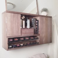 Wall Mounted Makeup Organizer Vanity Pre-Order Ship by ...