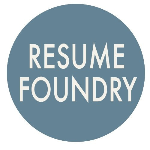 Inspired Resume Templates for the Stylish by ResumeFoundry on Etsy - resume and cover letter