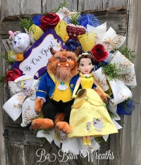 Beauty And The Beast Princess Wreath Disney Wreath Belle