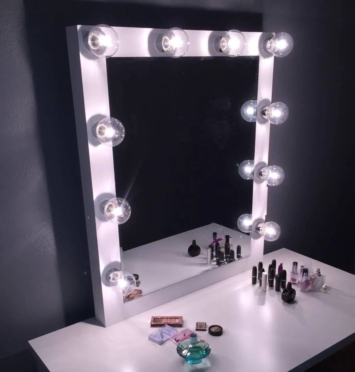 Hollywood Mirror Lights Ikea Xl Vanity Mirror With Hollywood Lighting Perfect For Ikea