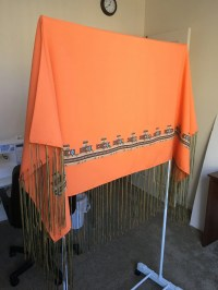 Homemade Native American Shawl