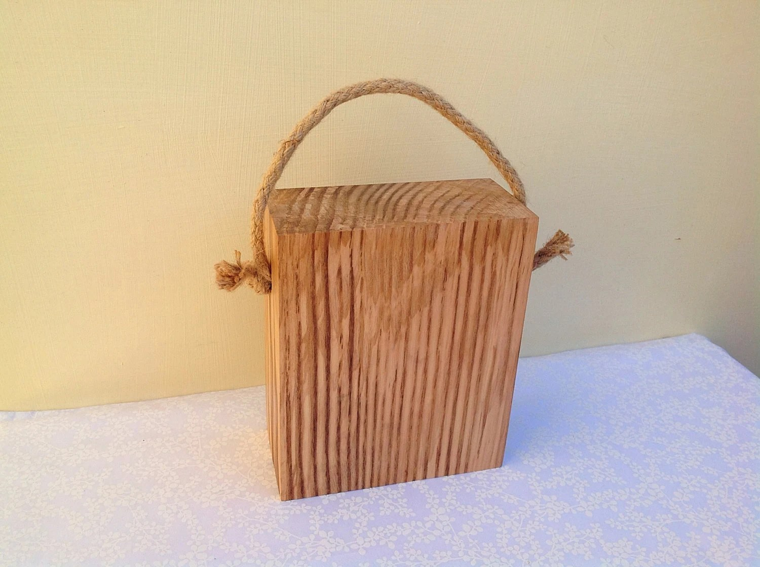 Rustic Door Stopper Solid Wood Doorstop Rustic Wood Doorstop Natural Ash Wood