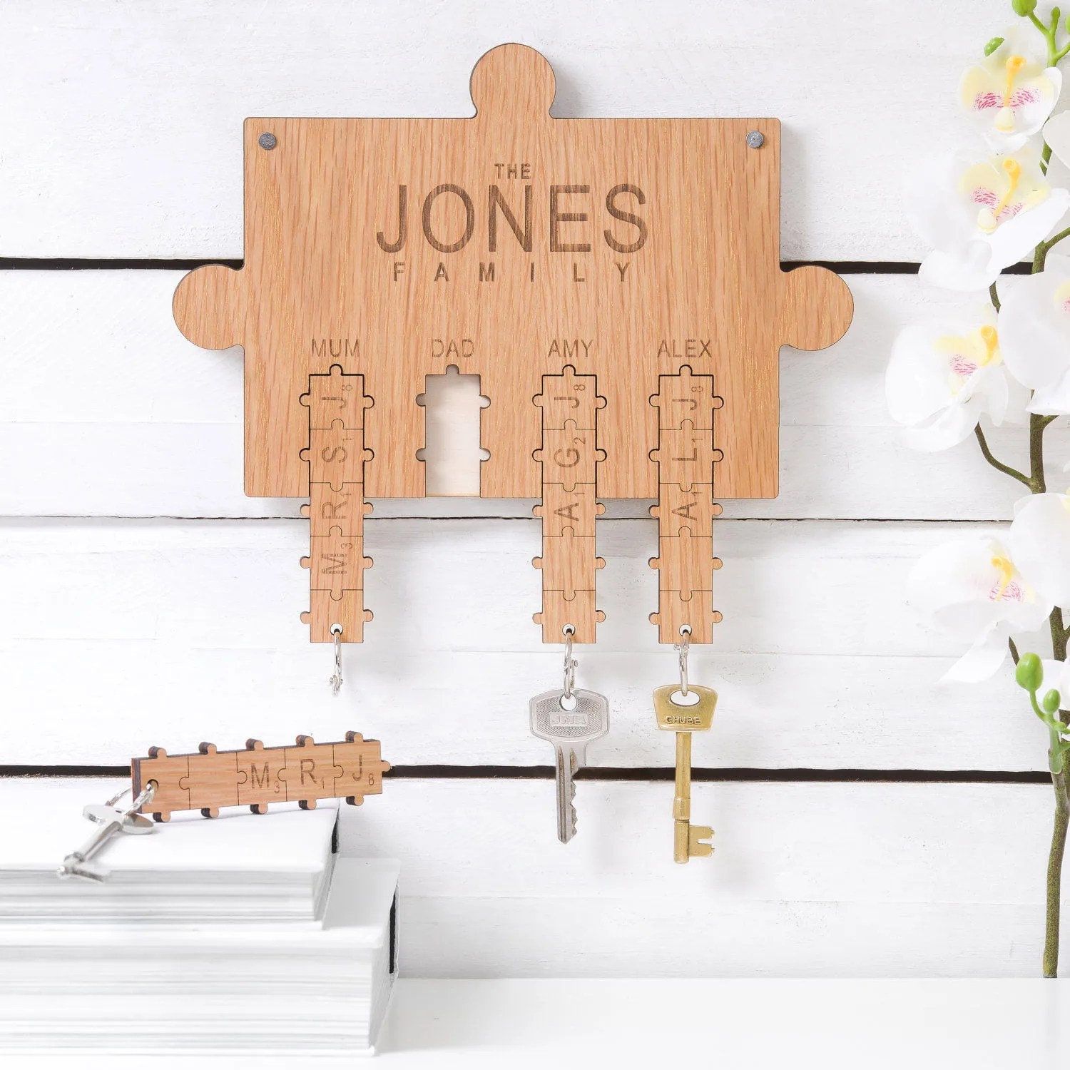 Key Ring Holder Wall Design Decoration