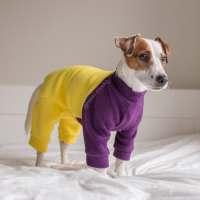 Dog pajamas Dog jammies Dog fleece onesie Custom dog