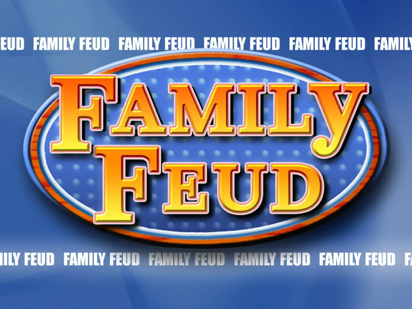 Customizable Family Feud Powerpoint Template - family feud power point template