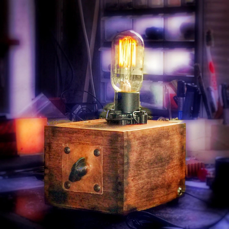Upcycled Lamp Etsy