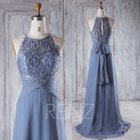 Steel Blue Bridesmaid Dresses Wedding Pictures | Dress images